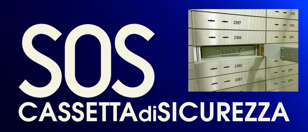 SOS cassetta di sicurezza