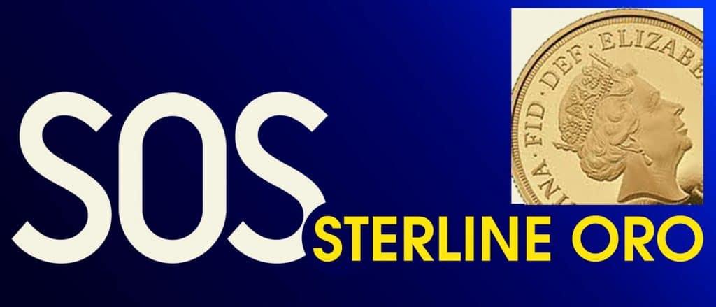 SOS sterline oro